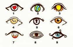 Test de personalitate. Alege un ochi !