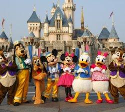 Petreceri cu personaje si mascote Disney