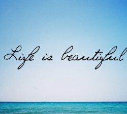 Viata e frumoasa, dar nu a mea ! Vreau sa traiesc viata ta !