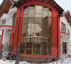 Tamplarie lemn stratificat de la HolzerTehnic