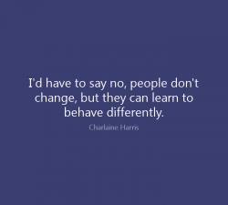 Oamenii nu se schimba
