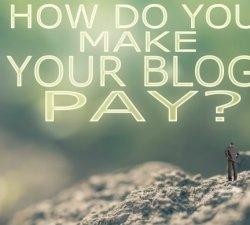 Bani din blogging !